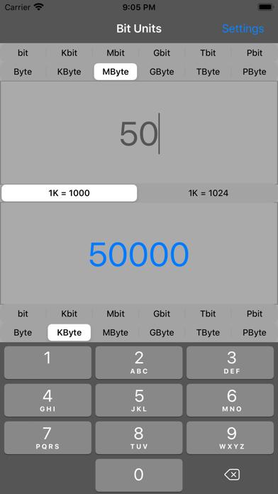 Bit Units Screenshot