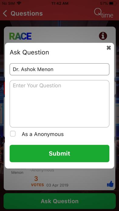 Qtime - question time screenshot three