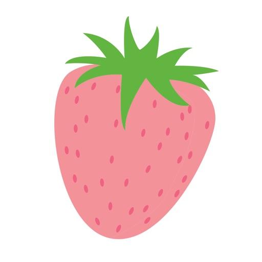 Strawberry Emoji Stickers