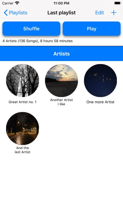 Playlists - make your own!