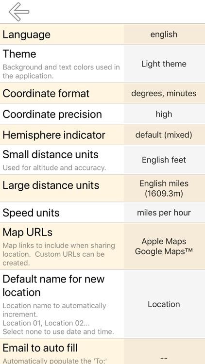 My GPS Coordinates Pro screenshot-6