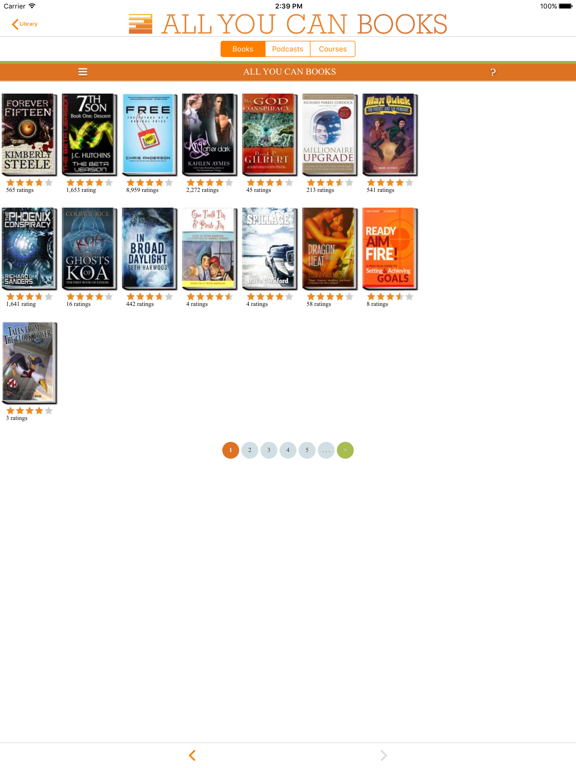 All You Can Books - AudioBooks, Podcasts, Language Courses screenshot