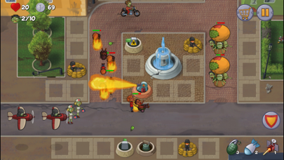 Zombie Town Defense screenshot two
