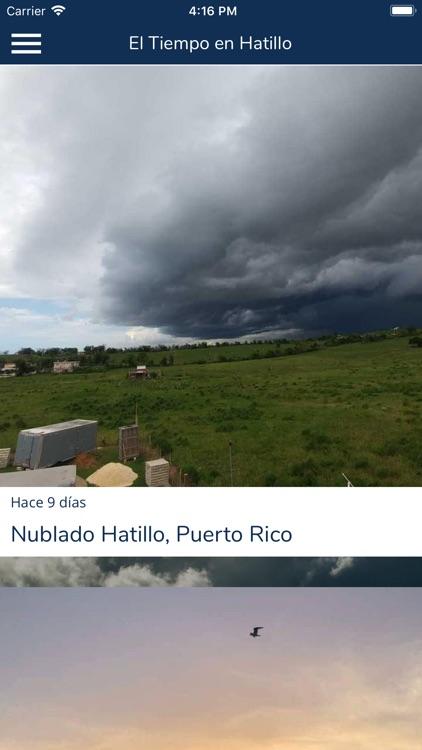 El Tiempo en Hatillo screenshot-3