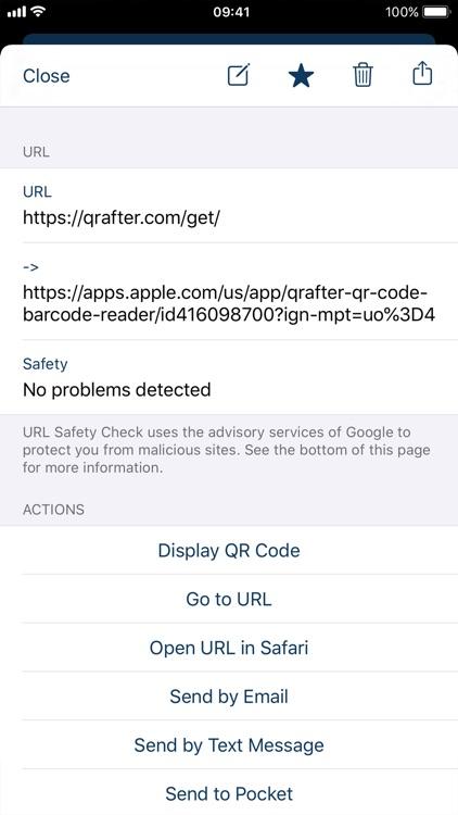 Qrafter Pro - QR Code Reader screenshot-4