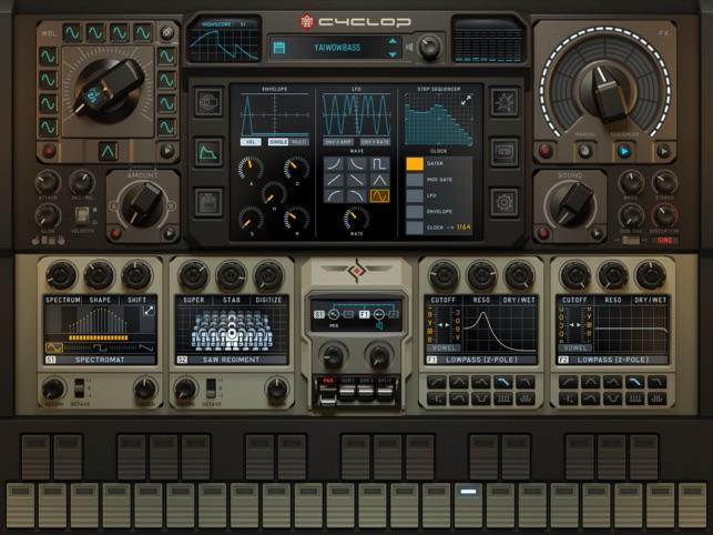 Cyclop for iPad Screenshot