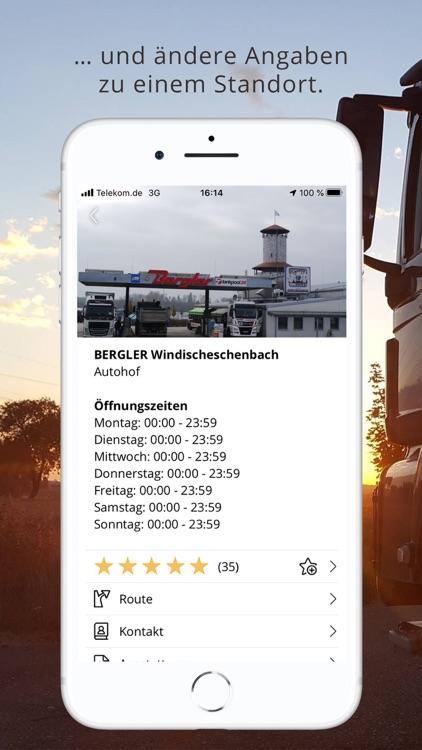 FERNFAHRER Truck Stops screenshot-6