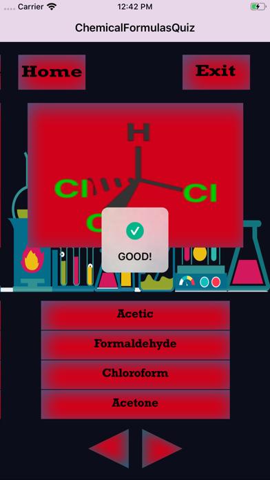 ChemicalFormulasIQ screenshot 3