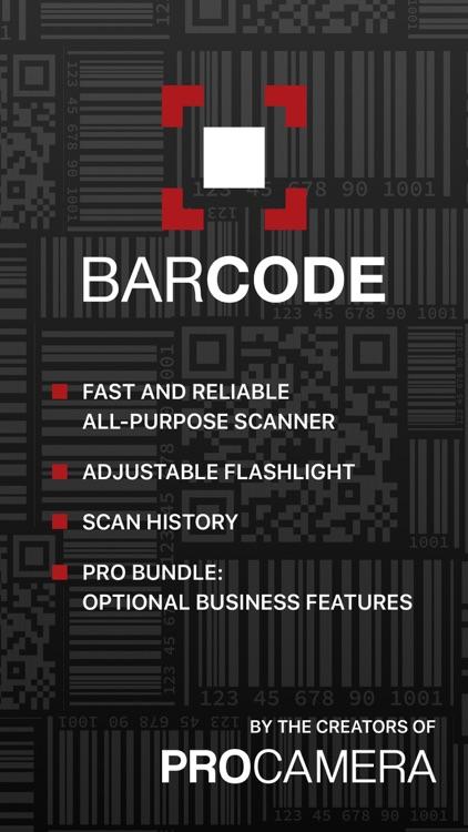 Barcode + QR Code Reader screenshot-0