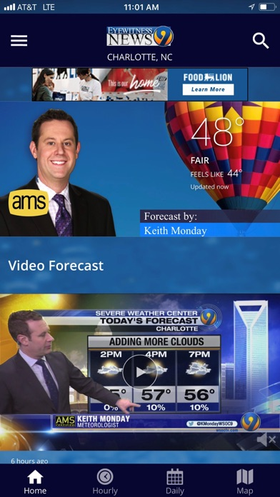WSOC-TV Channel 9 Weather App App Report on Mobile Action - App