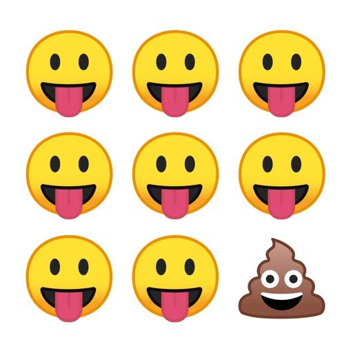 Odd Emoji Out game