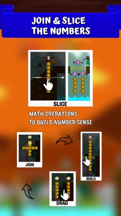 Math Bridges Numbers Addition screenshot-3
