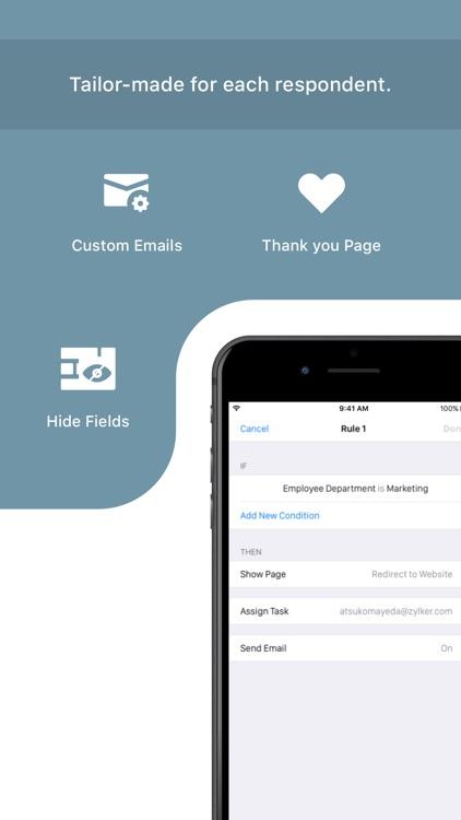 Mobile Forms App - Zoho Forms screenshot-7