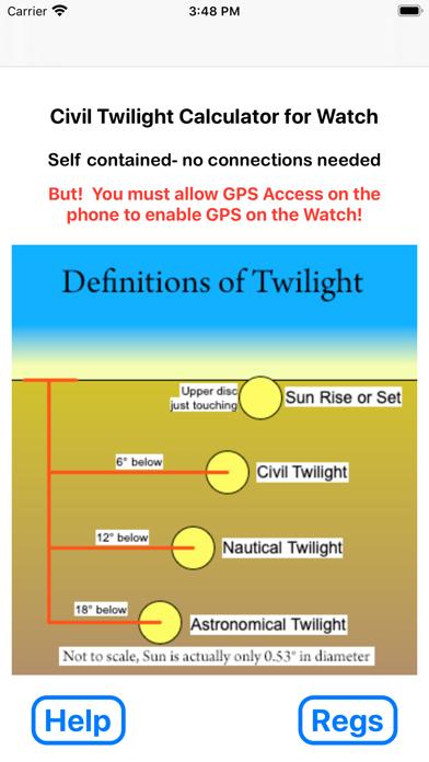 Civil Twilight for Watchのおすすめ画像1