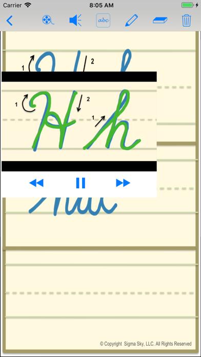 cursive screenshot 9