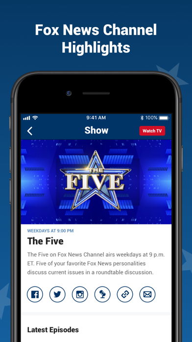 Fox News: Live Breaking News App Report on Mobile Action