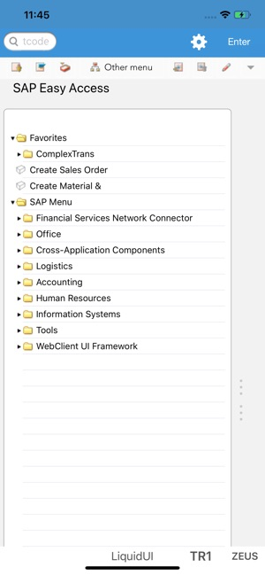 Liquid UI Client for SAP on the App Store