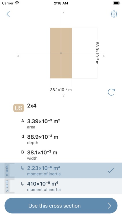 Deflection Beam Calculator screenshot-7