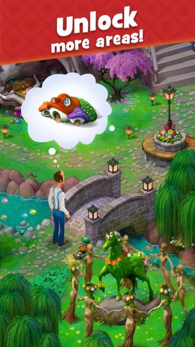 Screenshot for Gardenscapes in Egypt App Store