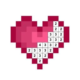 Number Pixel - Color by Number