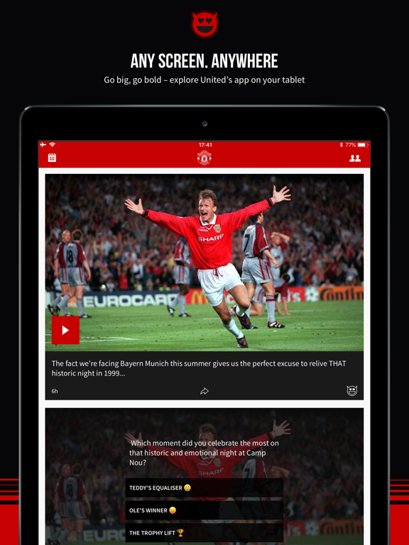 Manchester United Official App - Revenue & Download