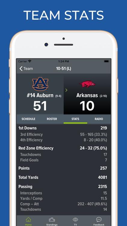 Arkansas Football Schedules screenshot-4