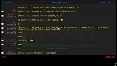 Online IPTV Screenshots