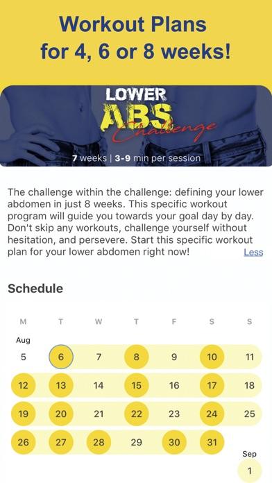 Abs Workout Screenshot 6
