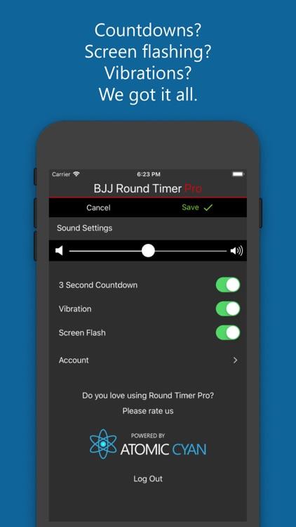 BJJ Round Timer Pro screenshot-5