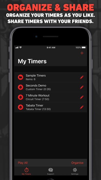 Seconds Pro Interval Timer app image