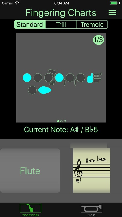 Instrument Fingering Charts screenshot-1