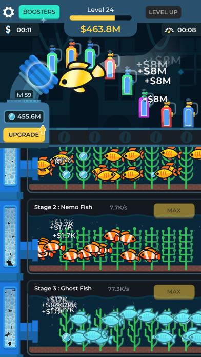 Idle Fish Aquarium screenshot 2