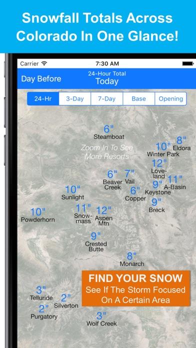 Colorado Snow Map & Webcamsのおすすめ画像1