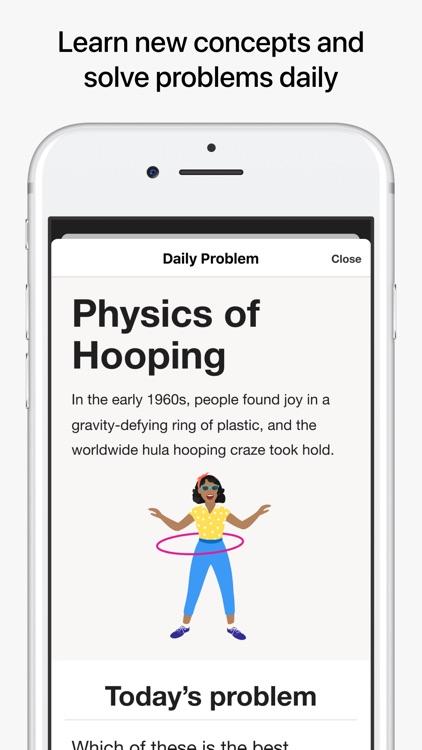 Brilliant – solve, learn, grow screenshot-4