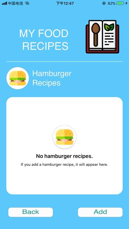 My Food & Recipes screenshot-4
