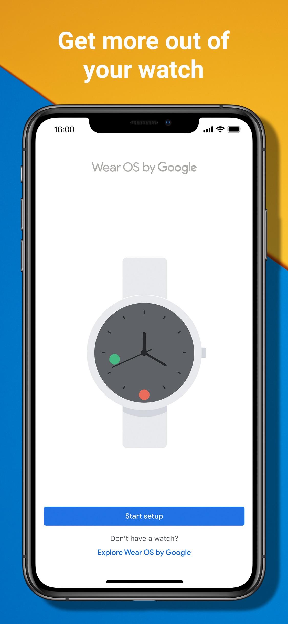 Screenshot do app Wear OS by Google - Smartwatch