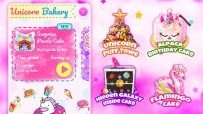 Unicorn Chef: Baking Games Screenshot on iOS