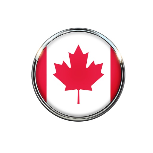Canada Flag Stickers