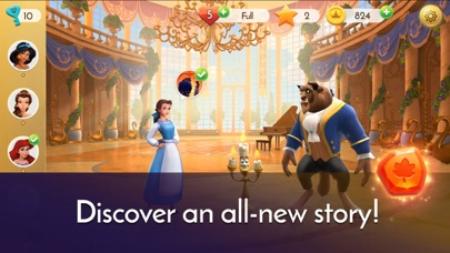 Disney Princess Majestic Quest screenshot 3