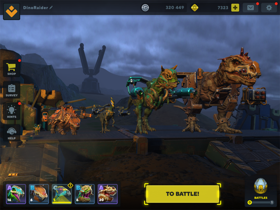 Dino Squad: Online Action screenshot 10