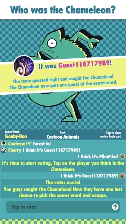The Chameleon Board Game screenshot-5