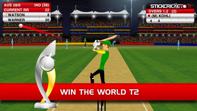 Stick Cricket Classic screenshot-1