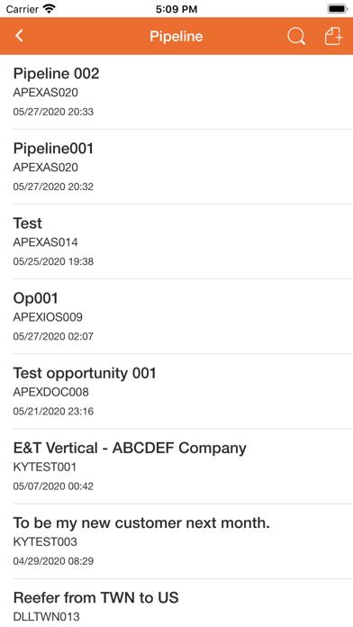 Apex Group CRM屏幕截图9