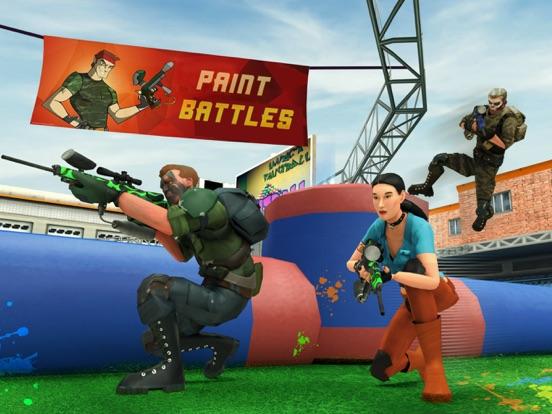 Paintball Shooting Games 3D screenshot 8