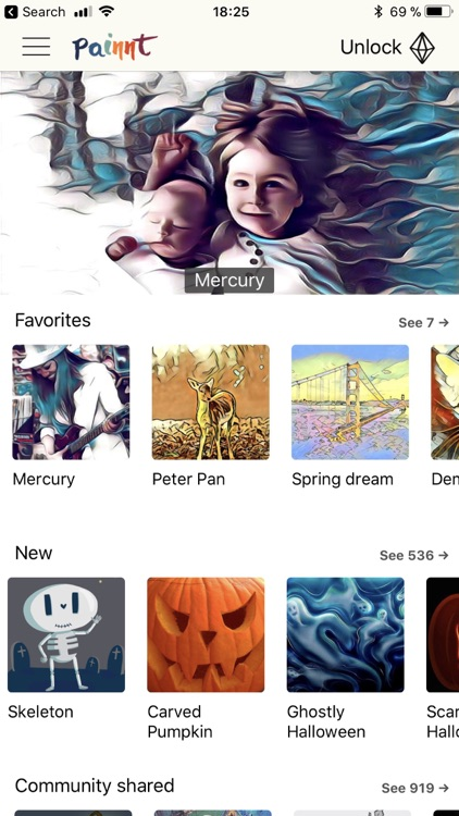 Painnt - Art & Cartoon Filters