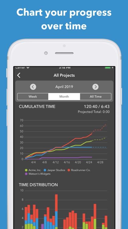Manifest Smart Time Tracker screenshot-4