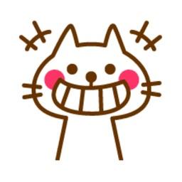 Nhãn Dán Mèo Má Hồng