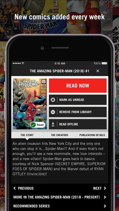 Marvel Unlimited - Revenue & Download estimates - Apple App Store - US