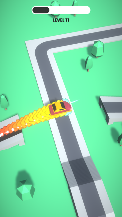 Trappy Road - Car & traps game screenshot 1