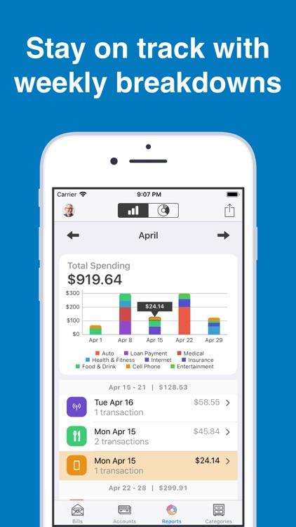 Bill Tracker Pro screenshot-4